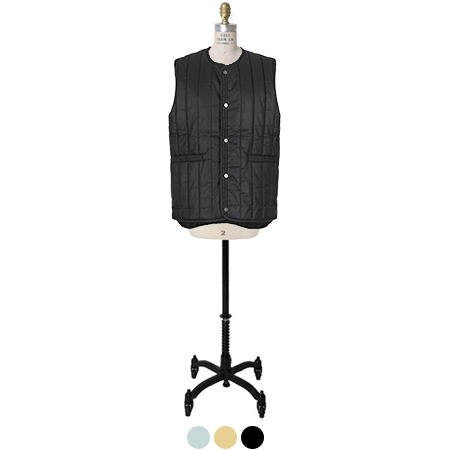 slim fit padded vest